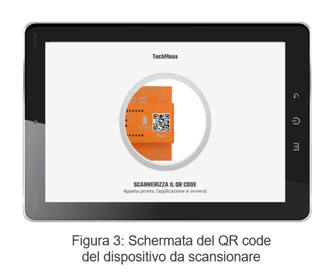 Schermata del QR code_TechMass